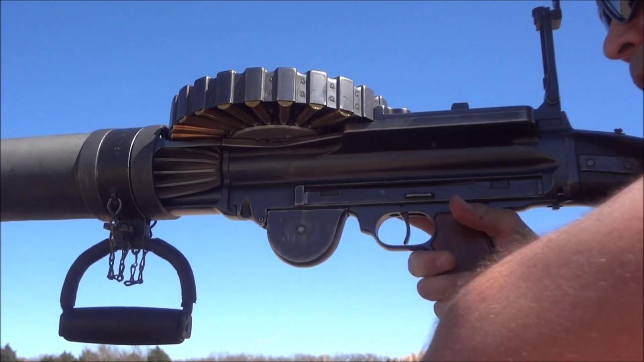 Model 1914 Lewis Machine Gun - (Ep47)