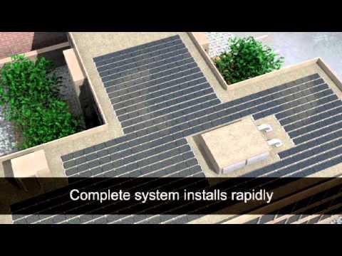 Solar Roof Tile Installation