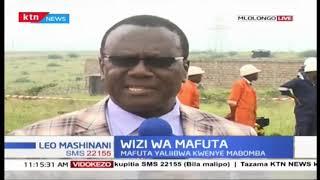 Wanaume wawili wametiwa mbaroni baada ya kiupatika na mafuta aina ya Super Mlolongo