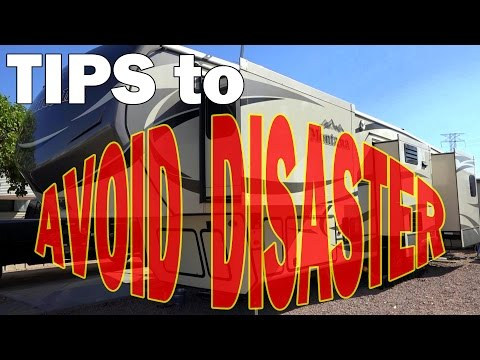 RV Maintenance Tips for 5th Wheels Motorhomes and Travel Trailers