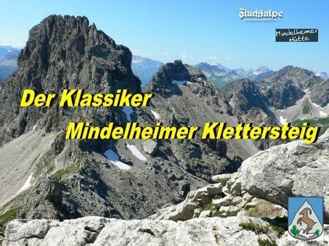 Klettersteig Mindelheimer : Mindelheimer klettersteig bergsteiger magazin