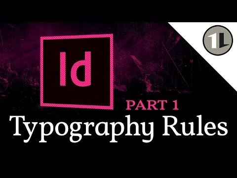 Typography In InDesign | Important Rules Every Graphic Designer Should Know!