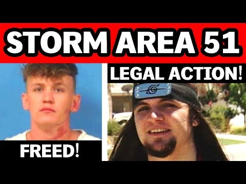 area-51-raid-sparks-legal-action!-youtubers-freed-after-storming-area-51!-september-20th-event-news!