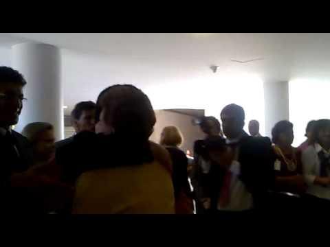 Presidente eleita chega ao Palácio do Planalto para primeiro encontro oficial com Lula