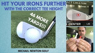 Hit Your Irons Further With The Correct Tee Height