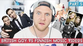 British Guy Reacts To Finnish Music Videos | Part 5 | Dave Cad