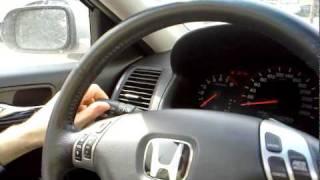 Диагностика Honda Accord своими силами.
