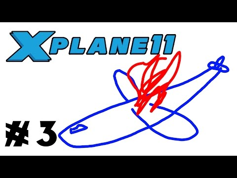 Let's Fly: X-Plane 11 - Episode 3 - Boeing 737-200 London to Paris