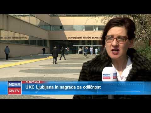 [Prispevek Slovenija] 26.03.2018 Nova24TV: UKC Ljubljana in nagrada za odličnost