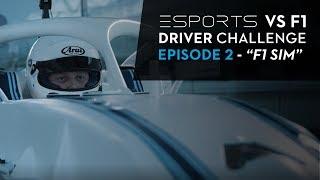 Esports vs F1 Driver Challenge - Episode 2, F1 Simulator