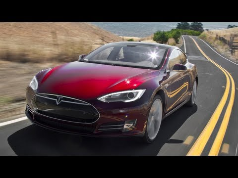 Driving the 2012 Tesla Model S - Wide Open Throttle Episode 22