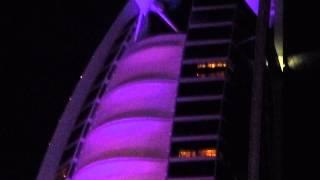Dubai. Burj al Arab Music & Lights.