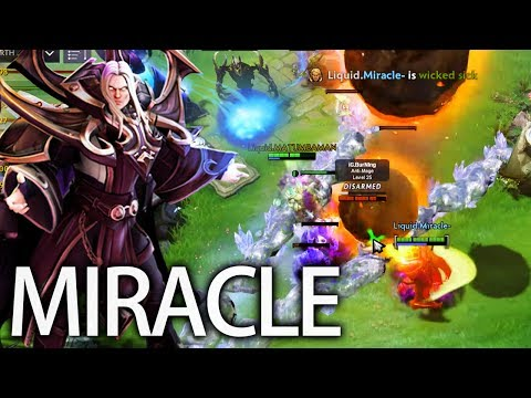 This is How Miracle Combo! 9K Pro Invoker God Team Liquid Dota 2