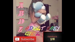 ABDL, Adult Baby, Teen Baby, Big baby, Diaper Girl, Adult Diaper