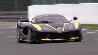 Ferrari FXX K - PURE V12 Sounds!