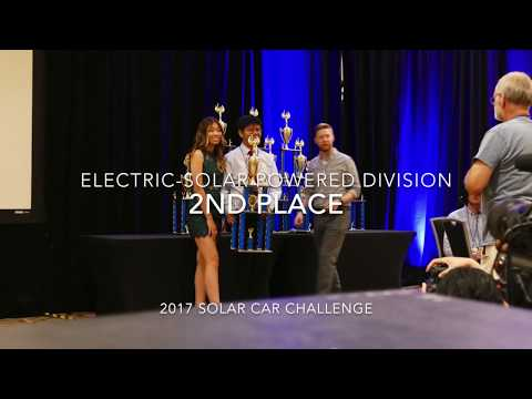 2017 Electric-Solar Powered Division Overall Results