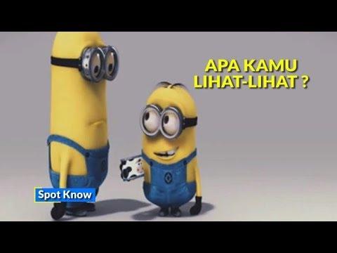 7 Kata Bahasa Indonesia Dalam Film Minion Youtube