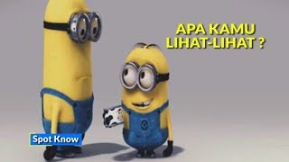 7 Kata Bahasa Indonesia Dalam Film Minion