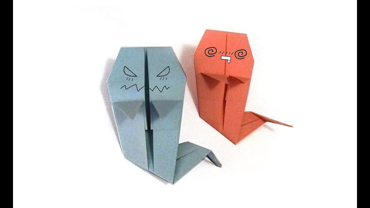 Halloween origami ghost tutorial how to make an origami ghost halloween origami ghost tutorial how to make an origami ghost jeuxipadfo Gallery