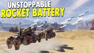 Post-Apocalyptic Survival Vehicle Builder   Crossout Gameplay