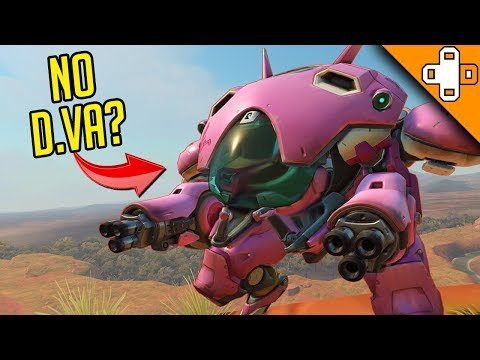 INVISIBLE D.VA GLITCH? Overwatch Funny & Epic Moments 758 thumbnail