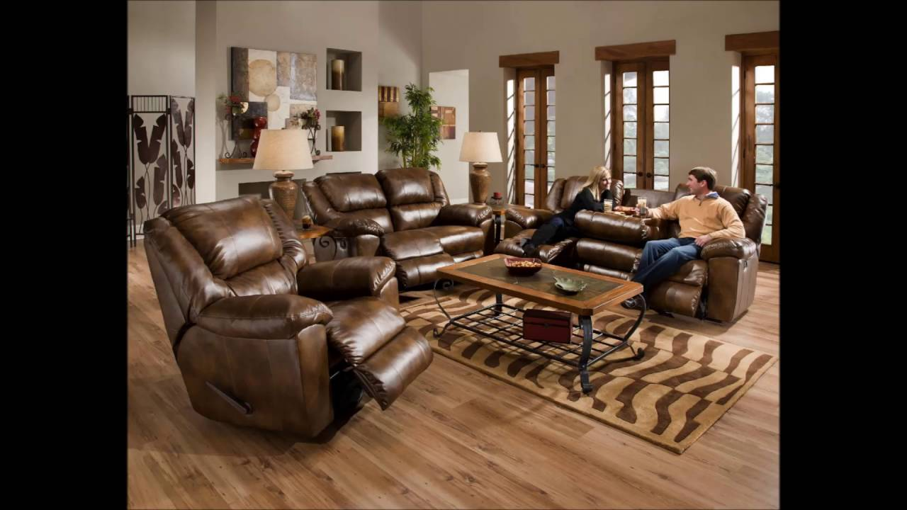 Leather Wood Sofa Furniture Ideas For Living Room Leather ...