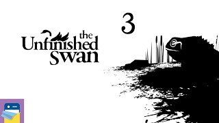The Unfinished Swan: iOS Gameplay Walkthrough Part 3 (by Giant Sparrow / Annapurna Interactive)