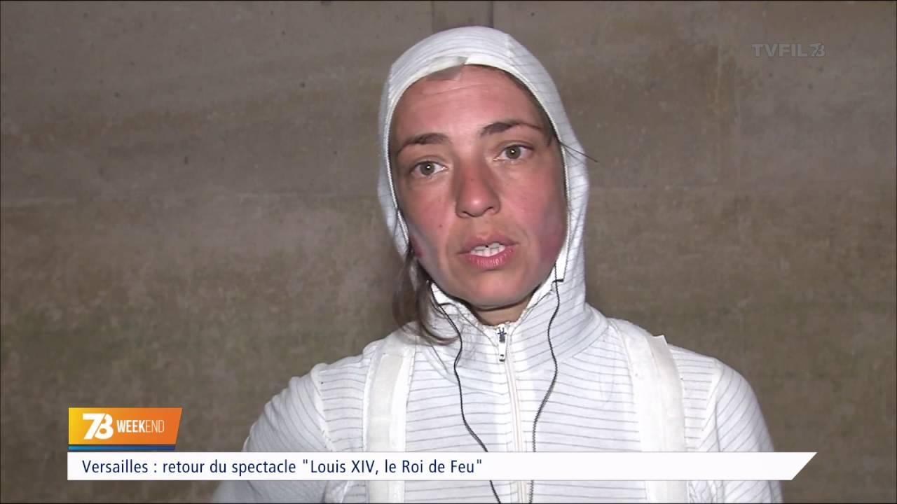 """Spectacle : """"Le Roi de Feu"""" de retour à Versailles"""