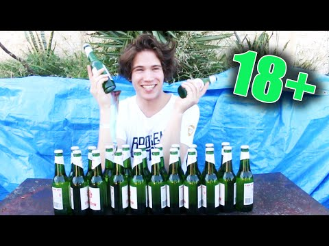 The Cider Challenge - (Feat. HowToBasic) *VOMIT WARNING* (18+)