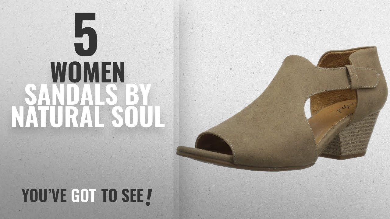 d93d4cf766ec Top 5 Natural Soul Women Sandals  2018   Natural Soul Women s Daya ...