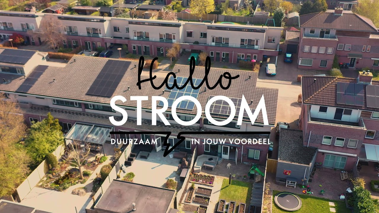 HalloStroom - Social media videocampagne
