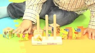 Домашняя Академия Babadu 9 Кубики-пазлы