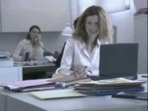 Office flirting - funny commercial