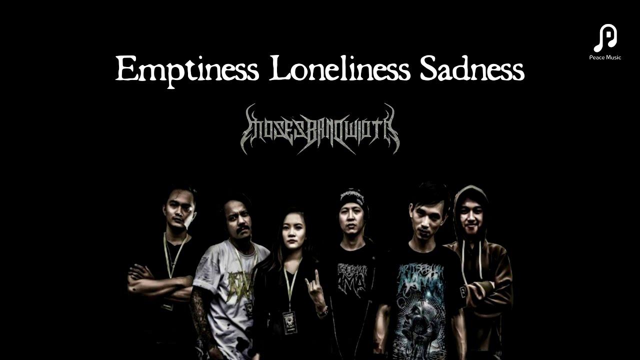 Moses Bandwidth - Emptiness Loneliness Sadness [Lyric Video]
