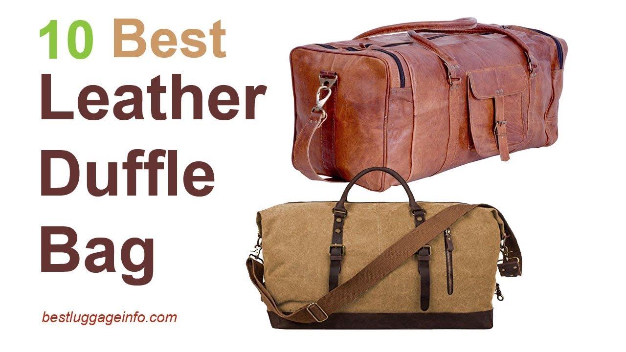 Best Leather Duffle Bag  12c760db0c801