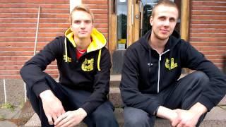 Robert Seppänen ja Antti Leppälä Kokkolan Tiikerit