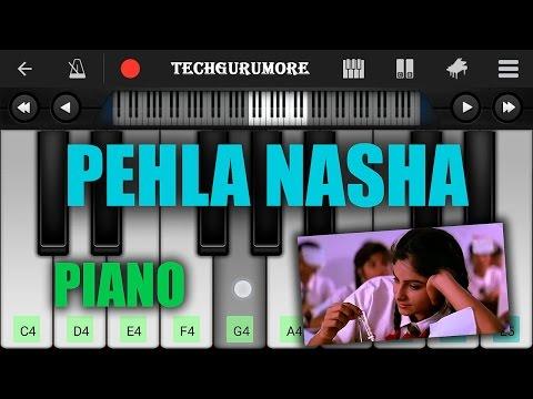 Pehla Nasha Pehla Khumar Piano Notes - Piano Tutorial   Techgurumore