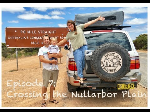FAMILY ADVENTURES in a 4WD rooftop tent - Ep. 07 : Crossing the Nullarbor Plain