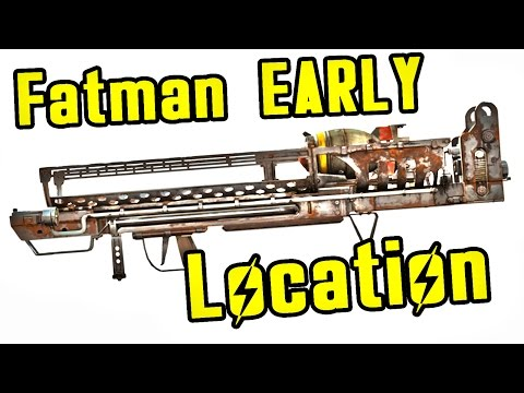 Fallout 4: How to get the Fatman at Level One (Location Guide)