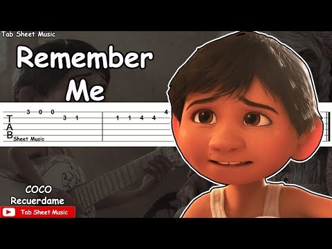Coco - Remember Me (Recuerdame) Guitar Tutorial