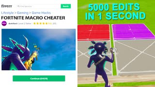 I found a MACRO CHEATER on Fiverr...