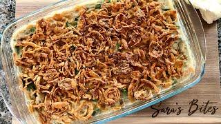 Green Bean Casserole - BEST Thanksgiving Side Dish