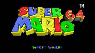 Super Mario 64 - Wacky Worlds【5 Stars WiP】By Mokkoriboy【TAS】