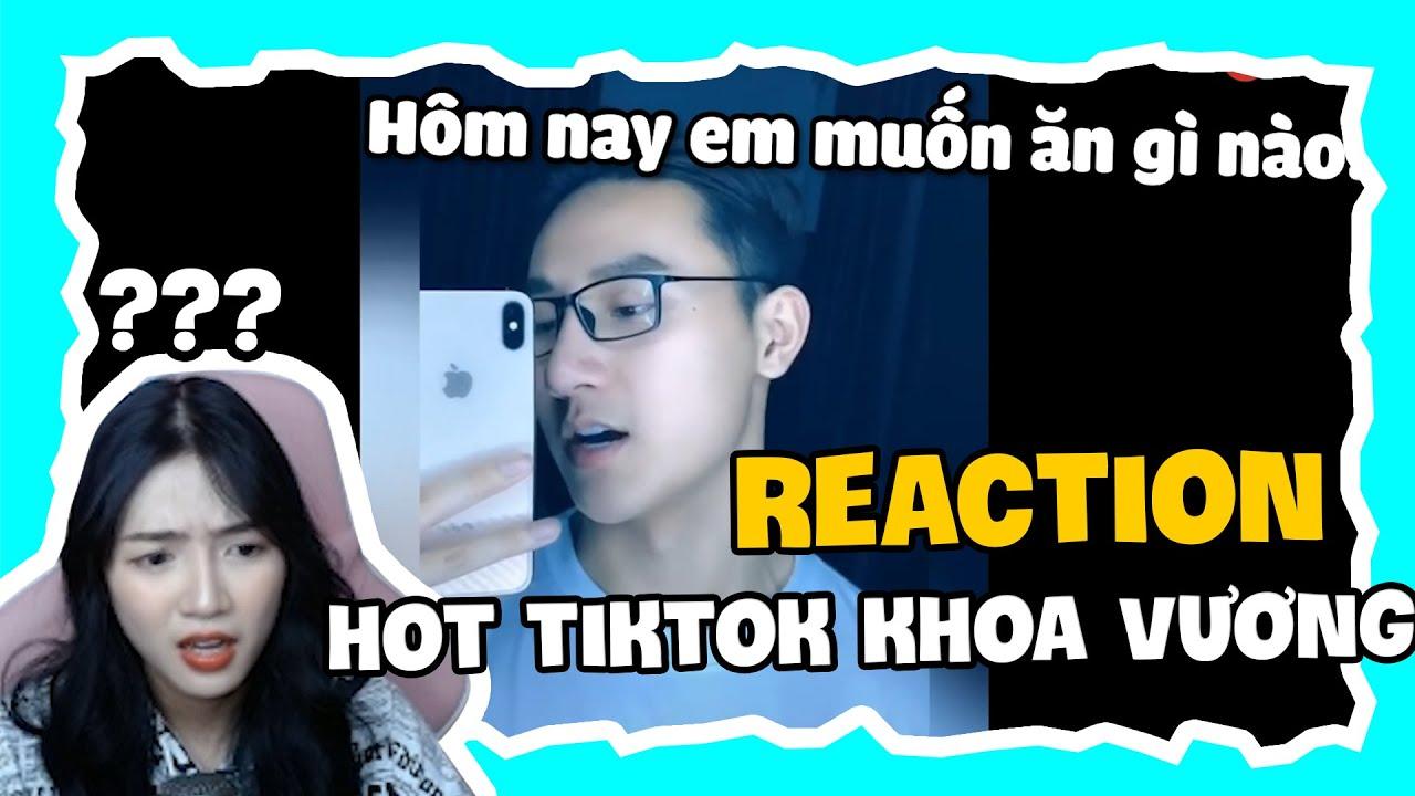 Reaction An Vy Bị Chiều Hư Quá Nên Không Thể Cưỡng Lại Được Khoa Vương | An Vy Vlog