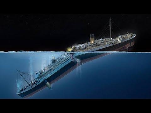 El Hundimiento del titanic en reversa