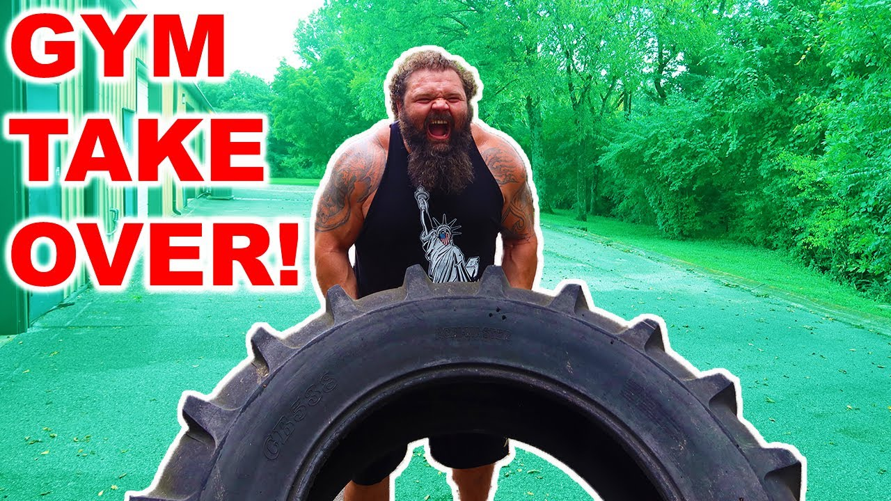 Training For Worlds Strongest Man Gym Takeover