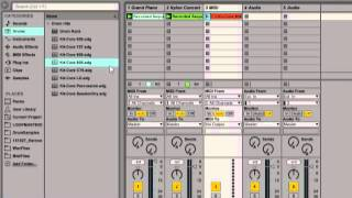 Recording A Multi Track Mix With Automation