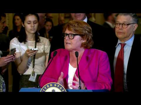 U.S. Senator Heitkamp Discusses the need for Bipartisan Health Care Reform