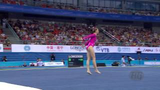 SKINNER Mykayla (USA) – 2014 Artistic Worlds, Nanning (CHN) – Qualifications Floor