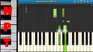 5 Seconds Of Summer - She Looks So Perfect Piano Tutorial - How To Play - Synthesia